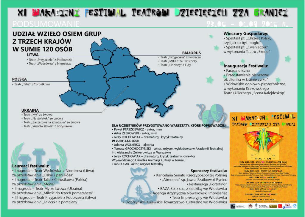 11 edycja festiwalu - infografika