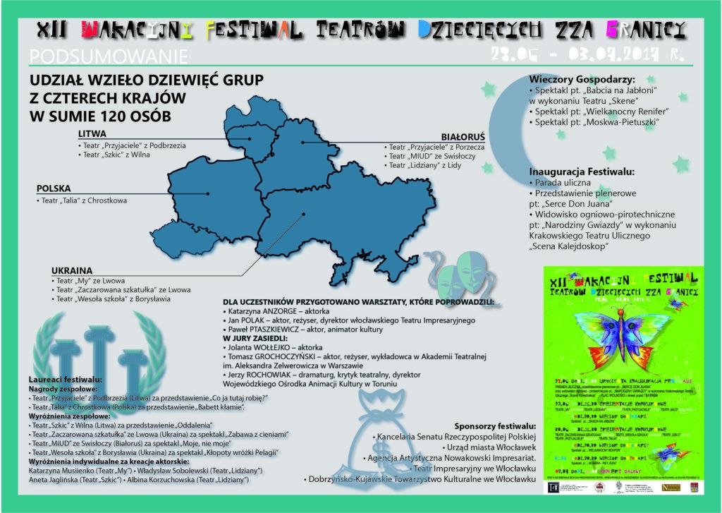 12 edycja festiwalu - infografika
