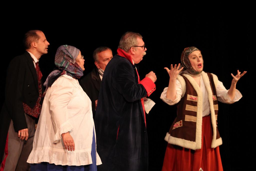 """Teatr Ludzi Upartych - """"Rewizor"""""""